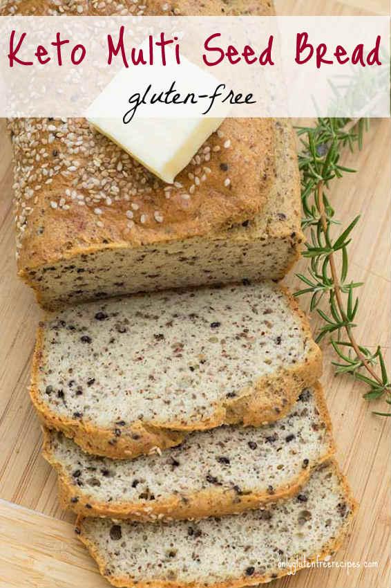 Gluten-Free Keto Multi-Seed Bread
