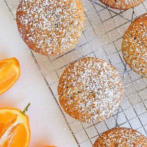 Gluten-Free Orange Yogurt Muffins