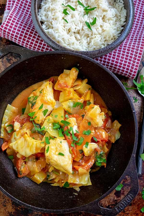 Caribbean Fish Curry Recipe
