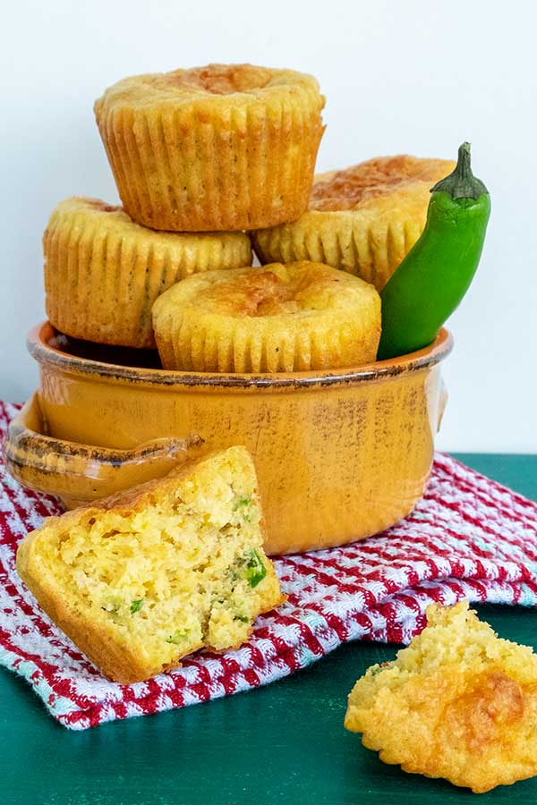 Best Gluten-Free Jalapeño Cheese Corn Muffins