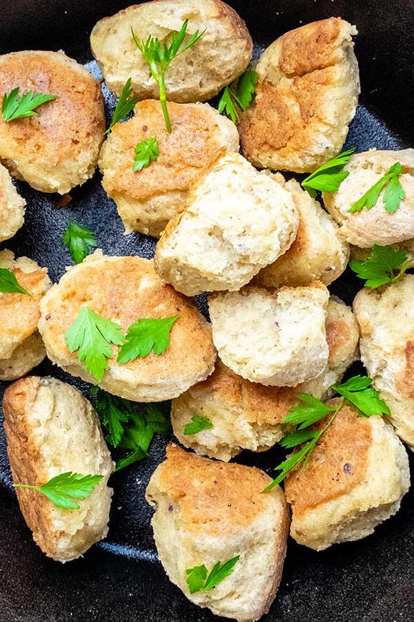 Gluten-Free Artisan Crusty Dinner Rolls