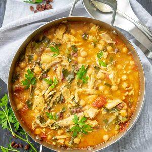 Turkey And Chickpea Moroccan Stew (Gluten-Free)