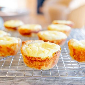 Gluten-Free French Pastry Cheese Cups