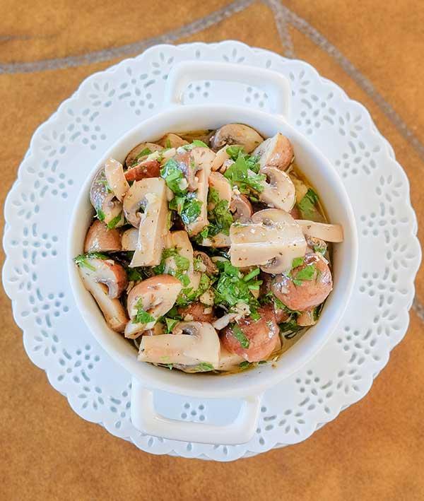 Marinated Mushrooms Recipe – {Vegan, Keto, Paleo, Gluten-Free}