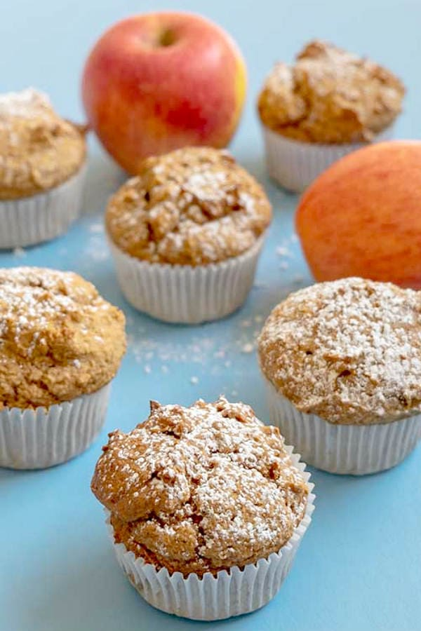 Paleo Apple Cinnamon Muffins {Grain-Free, Gluten-Free, Dairy-Free, Nut-Free}