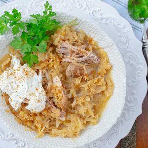 Instant Pot Pork And Sauerkraut ( Keto, Paleo )