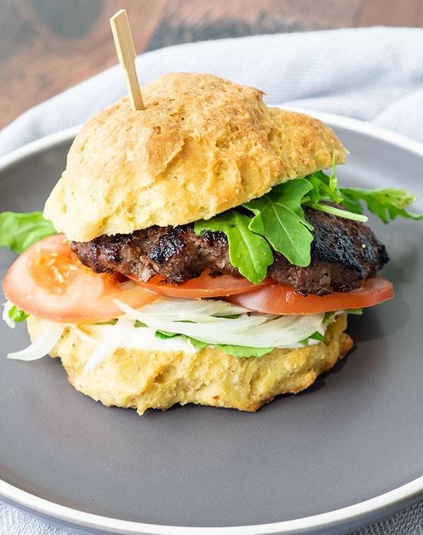 Easy Gluten-Free Hamburger Buns