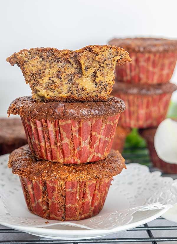Grain-Free Poppy Seed Apple Muffin