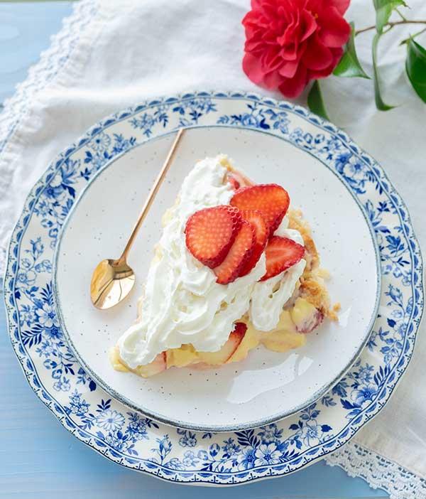 Gluten-Free Strawberry Cream Pie
