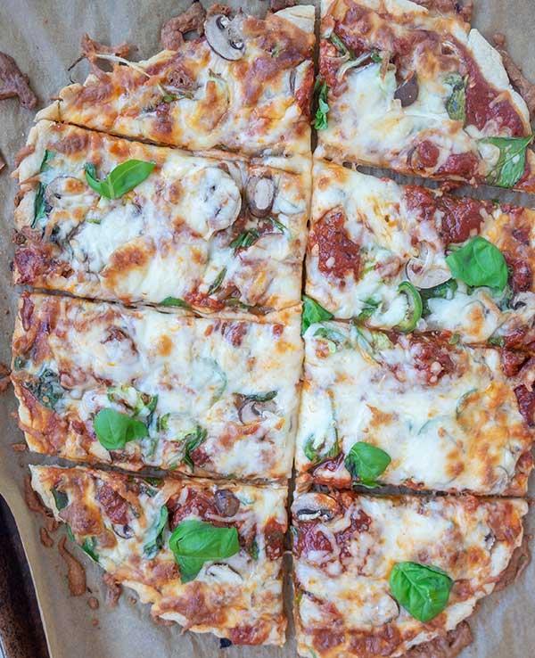 Gluten-Free Crispy Thin Pizza Crust