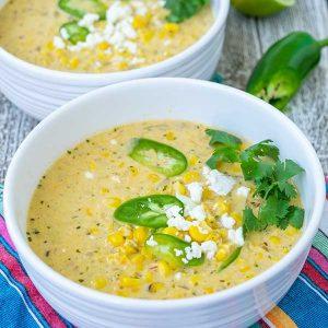 Mexican Street Corn Soup – Gluten Free