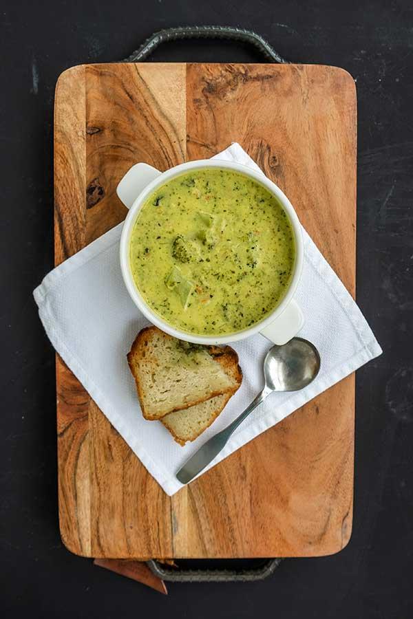 30-Minute Broccoli Cheddar Soup