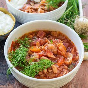 Instant Pot Borscht – Ukrainian Recipe