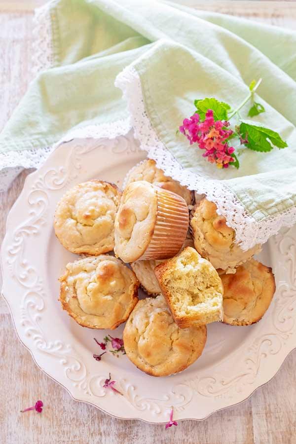 Gluten-Free Banana Bread Cheesecake Muffins