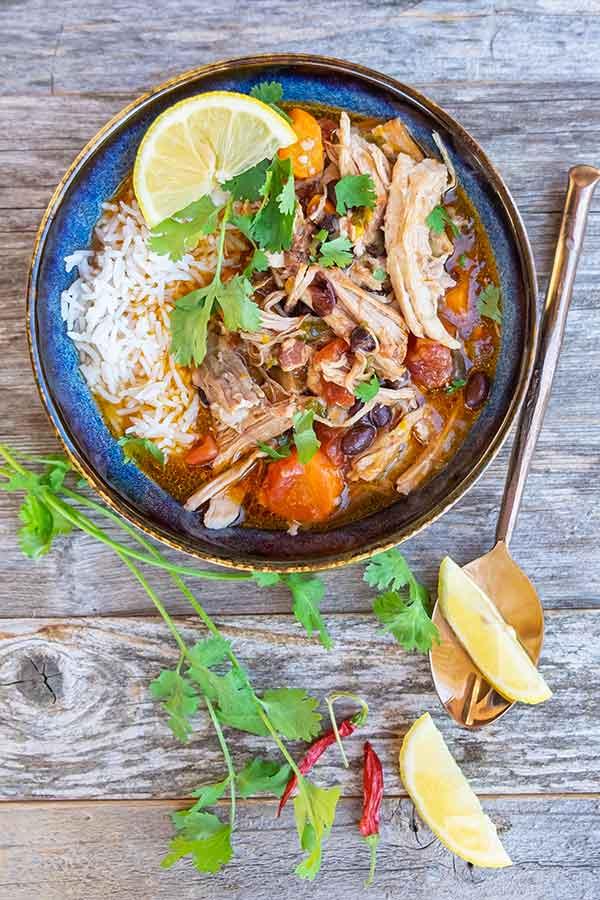 Instant Pot Spiced Cuban Pork Ragout
