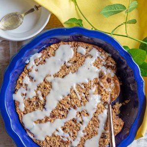 Gluten-Free Apple Baked Oatmeal