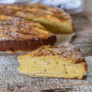 Gluten-Free Breakfast Apple Yogurt Cake