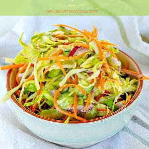 Best Vegan Coleslaw Recipe (Gluten-Free)