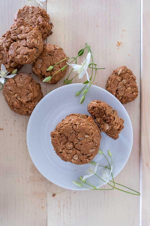 Gluten-Free Peanut Butter Oatmeal Cookies