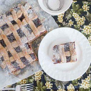 Gluten-Free Raspberry Linzer Cake
