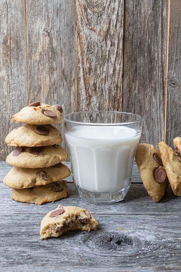 Grain-Free Cassava Chocolate Chip Cookie
