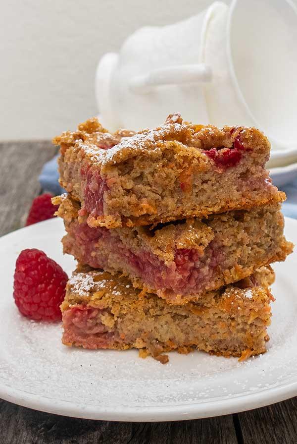 gluten-free healthy breakfast sheet cake