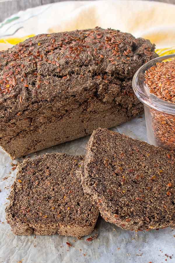 Gluten-Free Buckwheat Flax Bread