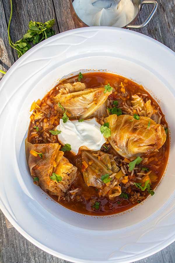 Best Cabbage Roll Soup – Gluten Free