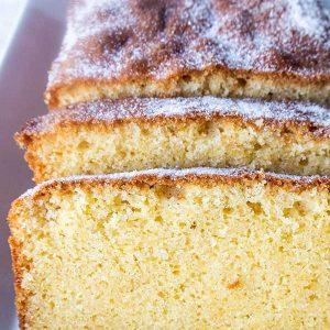 Gluten-Free Rice Flour Pound Cake