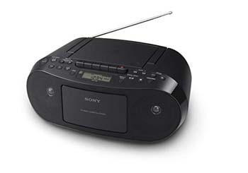 1. Sony CFDS50 Portable Boombox