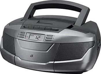 3. GPX, Inc. BCA206S Portable AM/FM Boombox