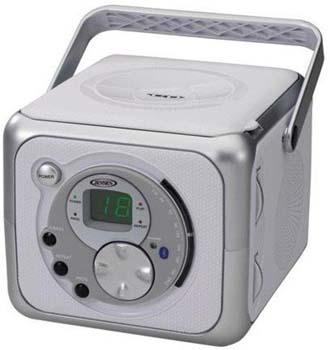 7. Jensen FM Stereo CD555 Bluetooth Boombox