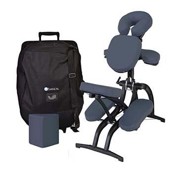 3. EARTHLITE Avila II Portable Massage Chair Package