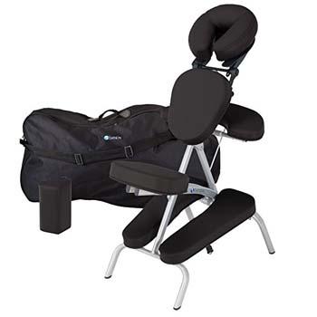 7. Earthlite Vortex Portable Massage Chair Package