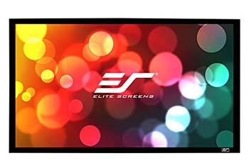 6. Elite Screens Sable Frame