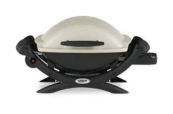 2. Weber 50060001 Q1000 Liquid Propane Grill