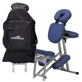1. STRONGLITE Ergo Pro II Portable Massage Chair