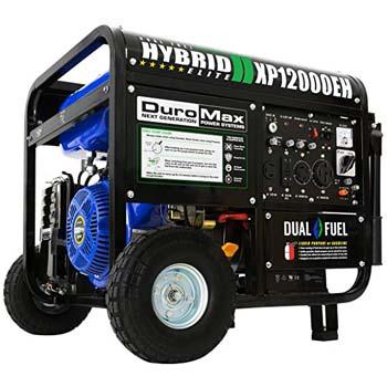 2. DuroMax XP12000EH Dual Fuel Portable Generator