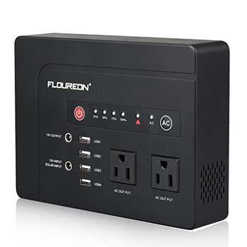 5. FLOUREON 42000mah Portable Power Station Emergency External Battery Pack Generator Backup
