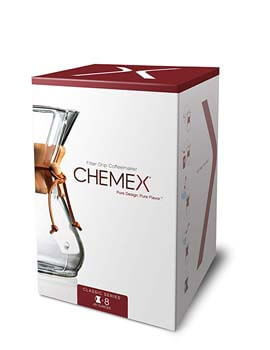 4. Pour-over Glass Coffeemaker by Chemex