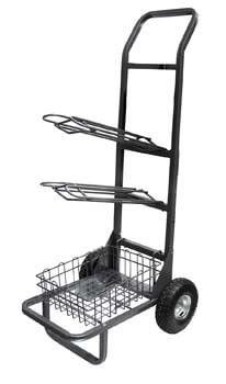 1. Rolling Saddle Rack-Cart