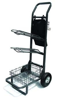 10. High Country Plastics Saddle Rack, Cart