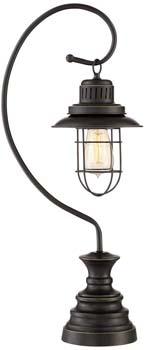 6). Ulysses Oil-Rubbed Desk Lamp