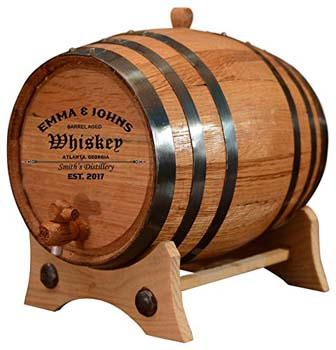 2. Personalized-Customized American White Oak Aging Barrel (two liters of size)