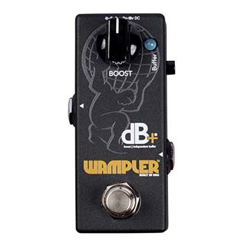 8). Wampler Decibel Pedals with V2 Boost & Independent Buffer Pedal Effects