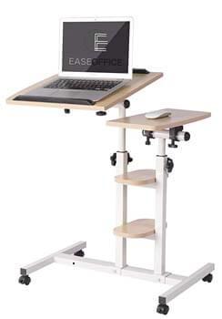 6. Ease Office Mobile Laptop Desk