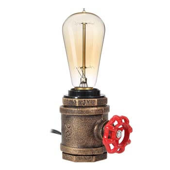 10). Elfeland Vintage Table Lamp