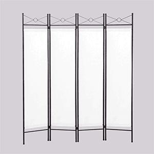 4. Lazymoon 4-Panel Room Divider