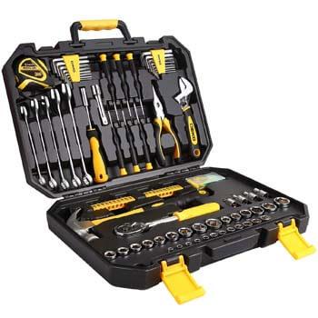 9 DEKO 128 Piece Tool Set