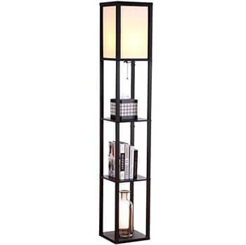 7. Brightech Maxwell – LED Shelf Lamp